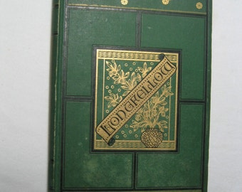 beautiful ornate 1880 edition 'The Complete Poems of Henry Wadsworth Longfellow'