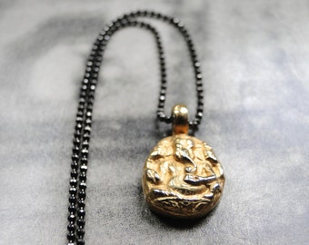 SALE Buddha Necklace /Pendant Necklace / Jewelry / Gift for Her / Gift for Him / Gold Buddha / Diamond Cut Chain / Layering Necklace