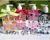 Personalized Hand Sanitizer - ONE  8 oz. - Teacher Gift  - Coach - Nurse - Adults - Teens - Gifts - Stocking Stuffer