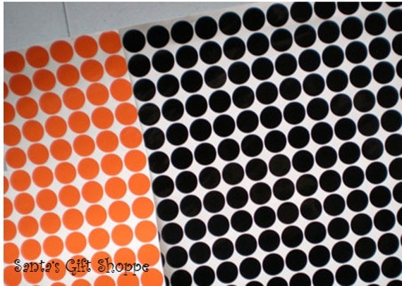 """220 Vinyl Decal 1/2"""" Polka Dots - Bachelorette Party - PARTY FAVORS - HALLOWEEN -  Party - Scrapbooking"""