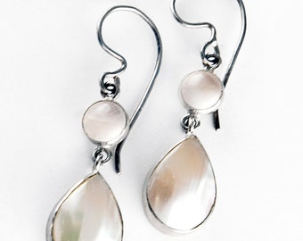 Delicacy Osmena Shell Sterling Silver Earrings