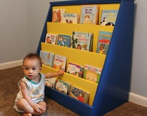 Woodworking Plans for Child's Bookcase