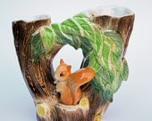 Hornsea 1960's Squirrel vase