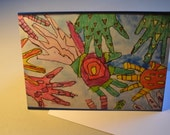 Colorful Hands Card