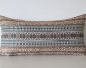 Tia Stripe Amber geometric stripes decorative pillow cover