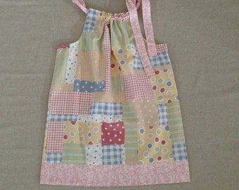 Pillowcase Dress - Patchwork Print 4T