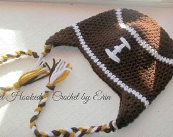 Football beanie/ all sizes