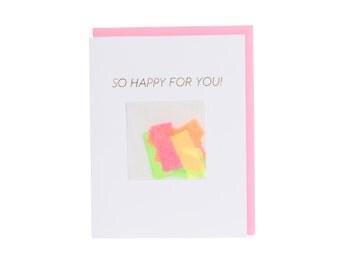 So Happy For You! Confetti Card™