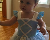 Cinderella Inspired Dress Custom Boutique Clothing Sassy Girl