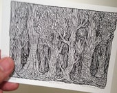 Deep Forest (mini limited edition print)