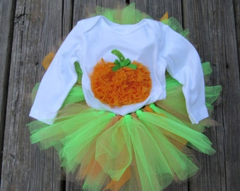 Shabby Sweet Pumpkin Onsie Set