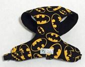 Batman Comfort Soft Dog Harness - Made to Order-