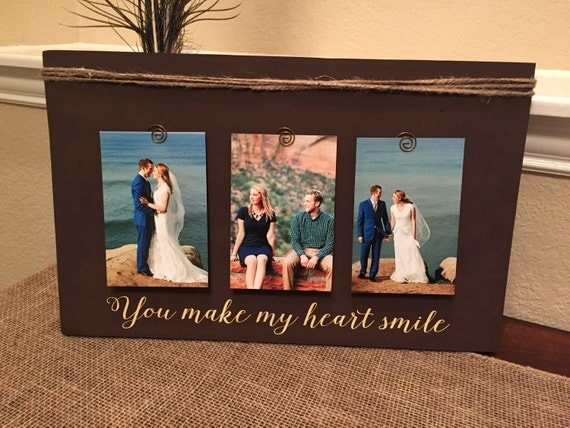 Wedding Gift Frame: Wedding Gift Frame Personalized Picture Frame For Husband