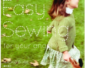 Easy Sewing For Your Angel  Sewing Clothes  Pattern Book Japanese