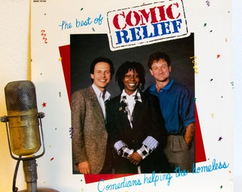 "Robin Williams / Billy Crystal / Whoopi Goldberg various Comedians Charity Vinyl Record Album LP 1980s Comedy ""The Best Of"" (1986 Rhino)"
