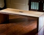 Custom delachaise table and matching end tables