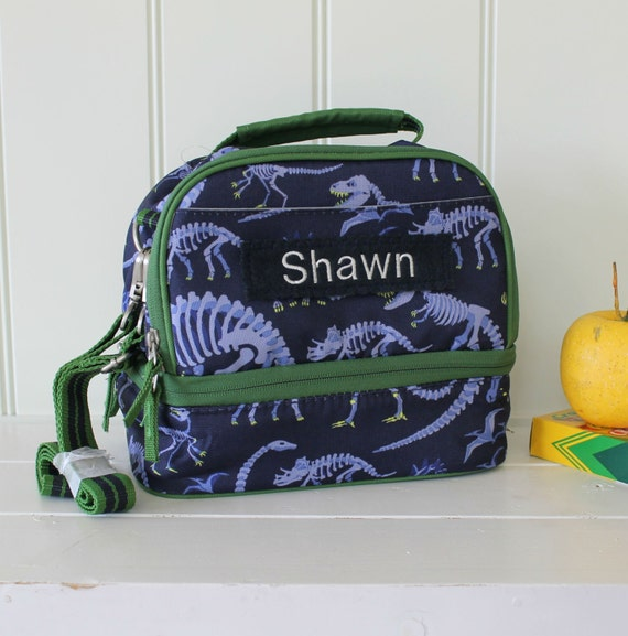 Personalized Lunch Bag Pottery Barn Dual Compartment