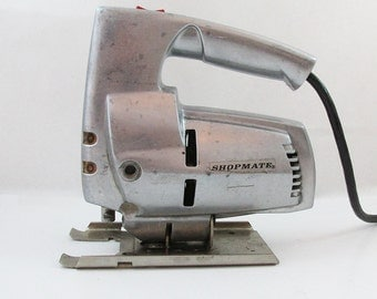Mid Century Shopmate Model 1810 Sabre Saw - USA Made with All Aluminum Body