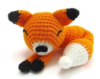 Fox Stuffed Animal Plush - Fox Plushie - Kawaii Fox - Fox Plush Toy - Fox Plush - Fox Animal Crochet - Stuffed Animal Fox - Fox Plushies