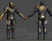 Deathstroke CarbonFiber Body Armor Pre-Order