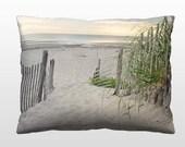 Coastal Decor Pillows, Decorative Throw Pillow, 12x16 Photo Pillow, Beach Cottage Pillow Decor, Living Room, Home Decor, Guest Room