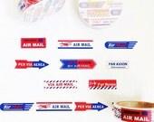 Airmail Label washi masking tape