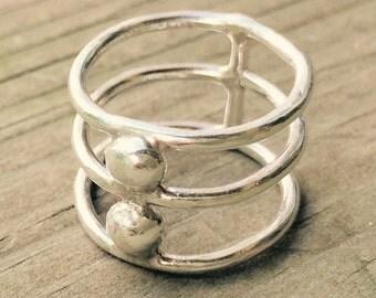 Triple Circlet Ring