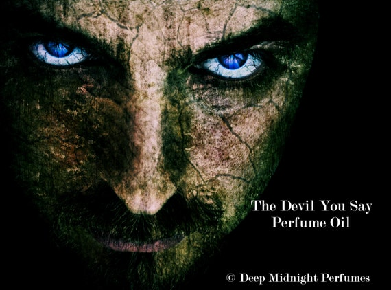 The DEVIL YOU SAY Perfume Oil - Dragon's Blood, Chypre Accord, Black Pepper, Salt, Tobacco - Gothic perfume - Supernatural