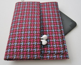 Tablet Keeper in Pert Periwinkle for iPad, iPad Mini, iPad Air, Nexus 7, Kindle Fire, Nook and more