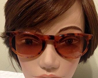 Vintage Serengeti Corning Optics Tortoise Sunglasses Designer Tortoise High Fashion!