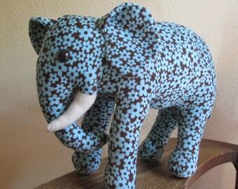 Plush Corduroy Elephant