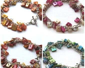 Square Shell Bracelet