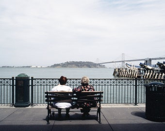 San Francisco 5x7 Original Lomo Art Photography