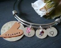 Stackable Bracelet - Bangle Bracelet - Mom Grandma Girlfriend BFF Best Friend Gift Stylish Trendy