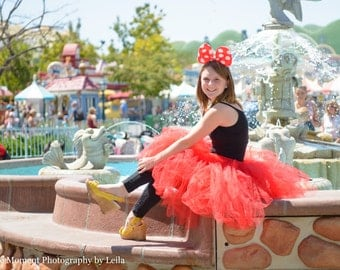 Minnie Mouse inspired Ears - choose from pink or red