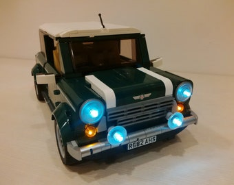 Lightup kits for Creator - Mini Cooper - (car not included)