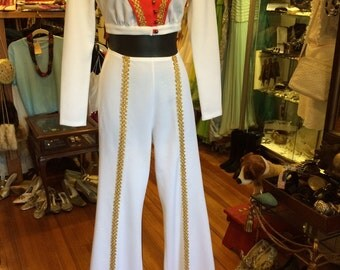 60s-70s disco pants suit