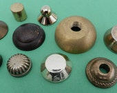 Assortment Of Brass Parts- Found Objects- Steampunk- Junk Drawer- Reserved For Mark