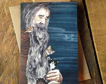 Beardnest // Greeting Card