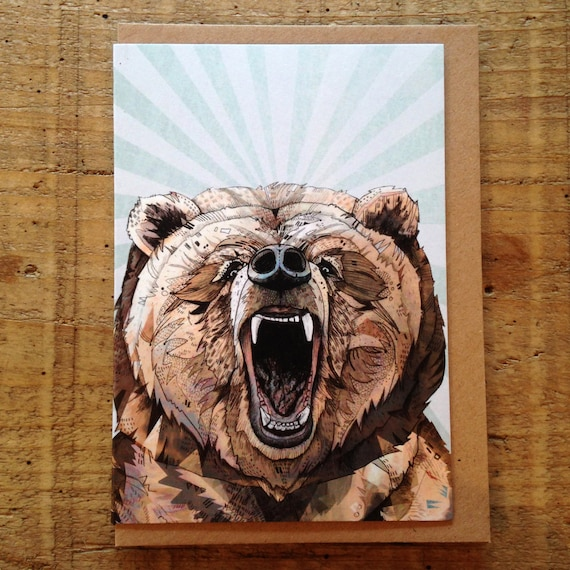 Grizzly // Greeting Card