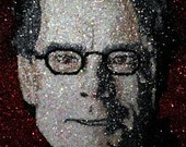 Stephen King glitter art