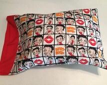 Betty Boop travel pillow case/toddler pillow case 100% cotton
