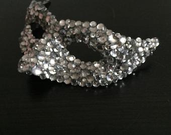 Crystal Incognito Venetian Mask