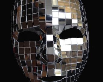 Mirror Mask Full Face