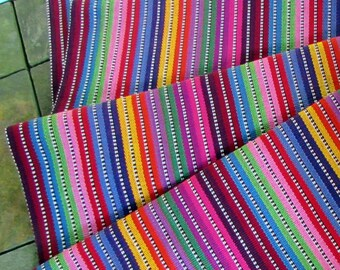 Guatemalan Fabric in Candy Brights