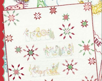 Snow Parade Quilt Pattern by Meg Hawkey for Crabapple Hill