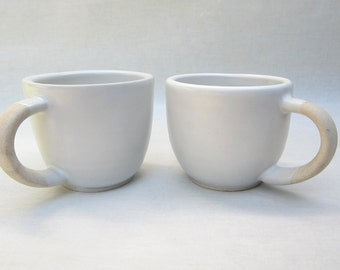 raw handle mugs