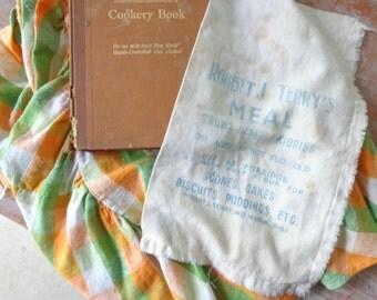 VIntage Robert J Terrys Meal Sack
