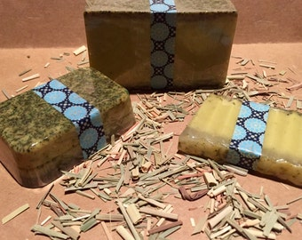 Black Currant Tea Goats Milk Soap, available in 3 sizes