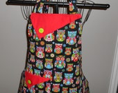 Quilted Owls Women's Apron